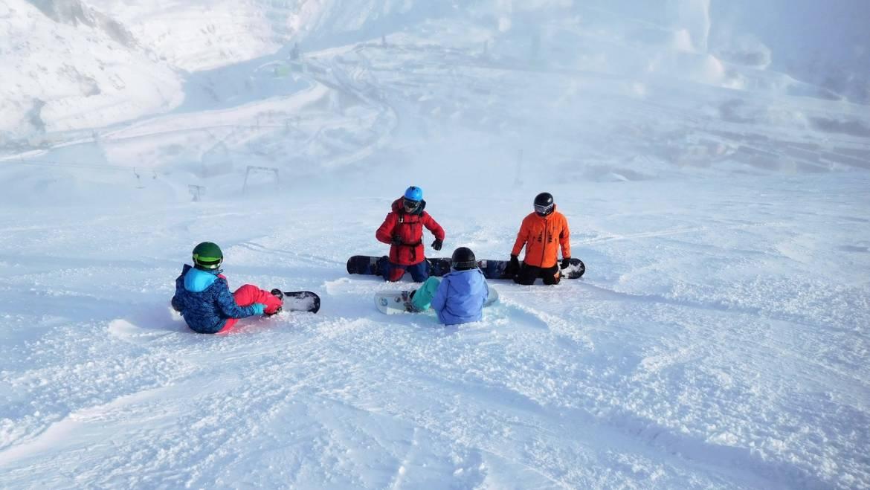 Курс RIDE UP+ Совершенствование сноубордической техники